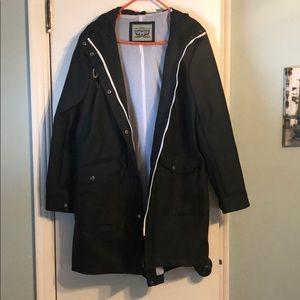Levi Strauss Raincoat, size Large